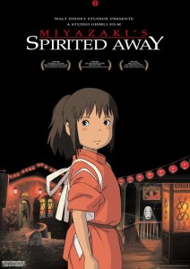 spirited away_locandina