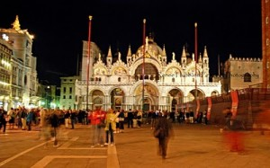 Basilica S. Marco by night