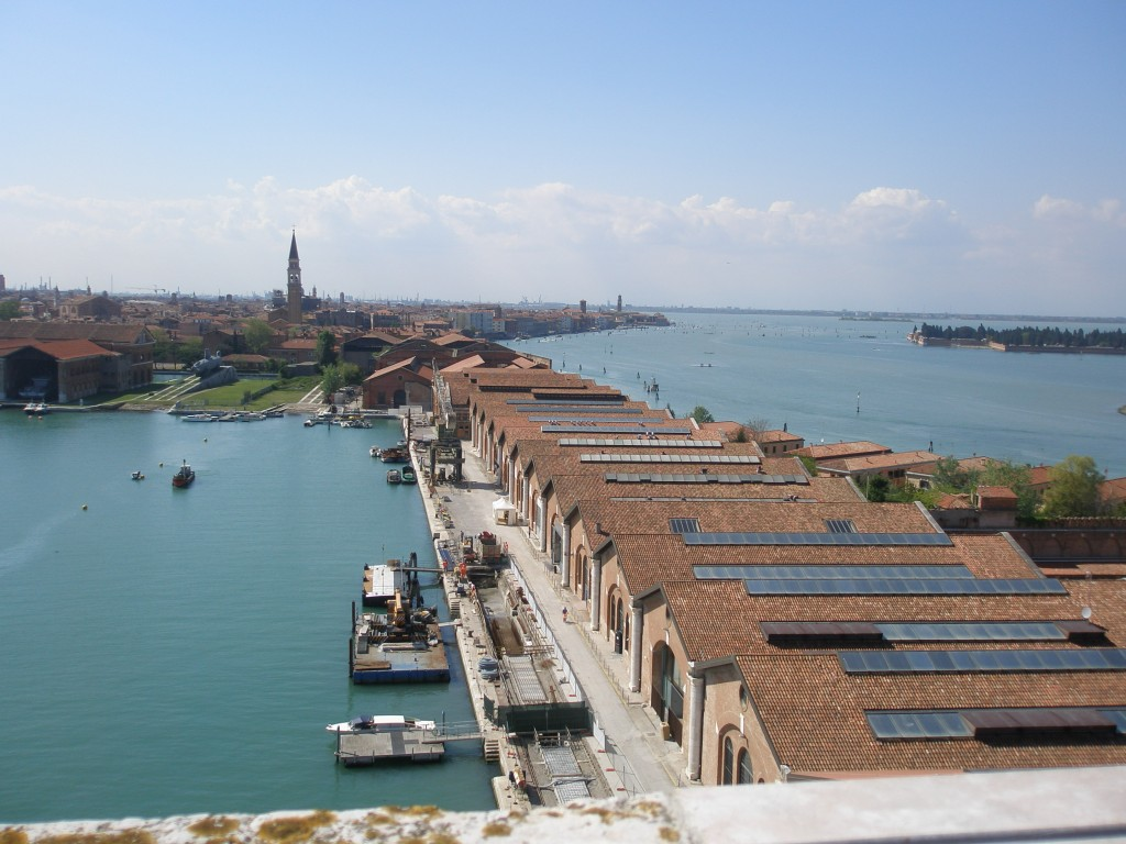 view from arsenale