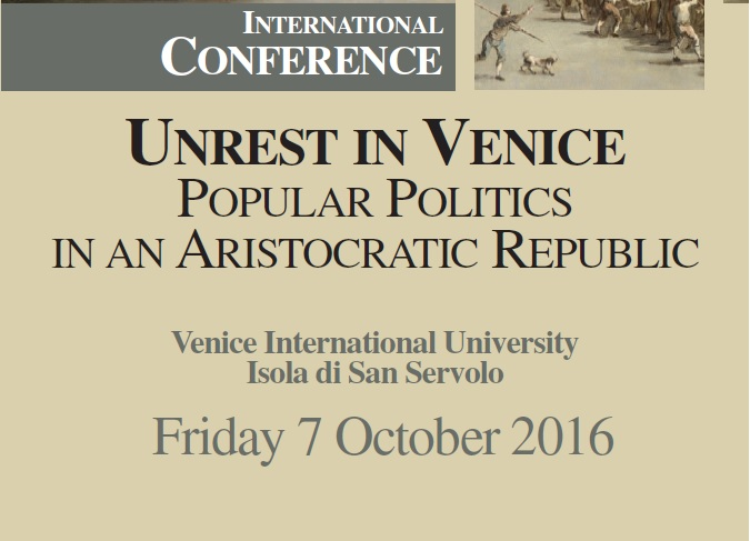 unrest in venice conference